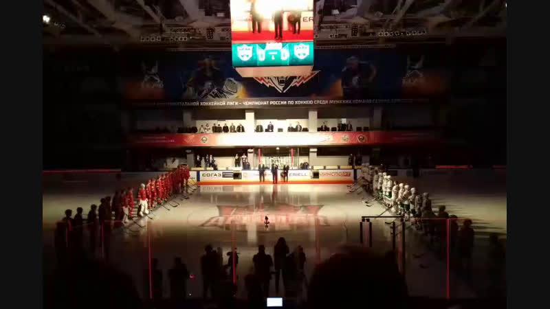 Матч звёзд хоккея Кубок вызова молодёжной хоккейной лиги Нефтехим Арена Открытие