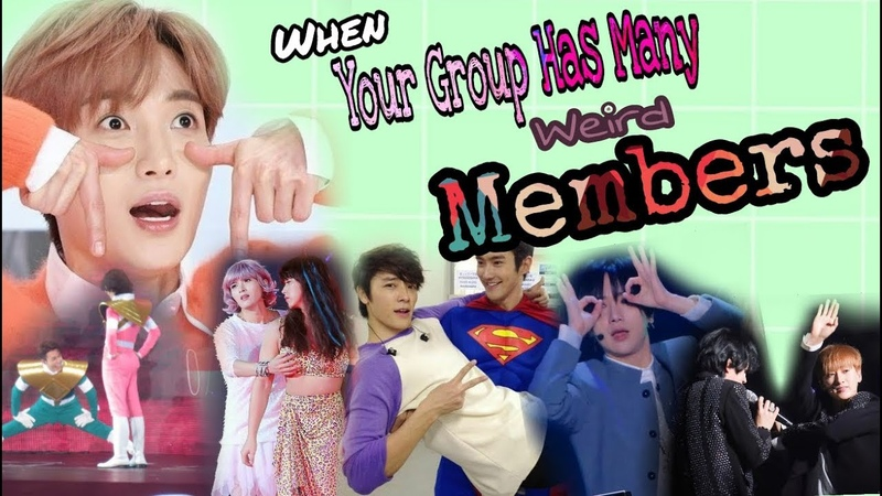 When Your Group Has Many Weird Members || Super Junior