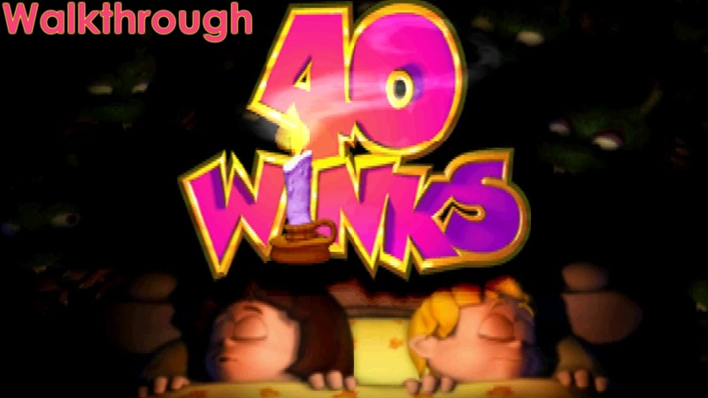 40 Winks Walkthrough