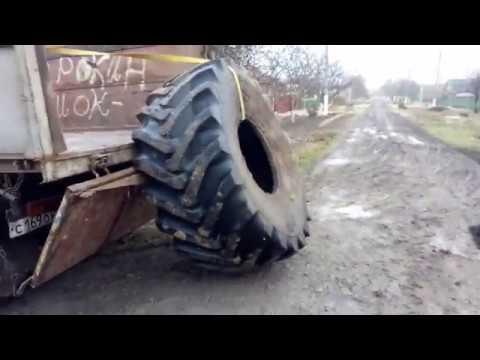 Погрузка Ската весом до 400 кг в кузов самосвала