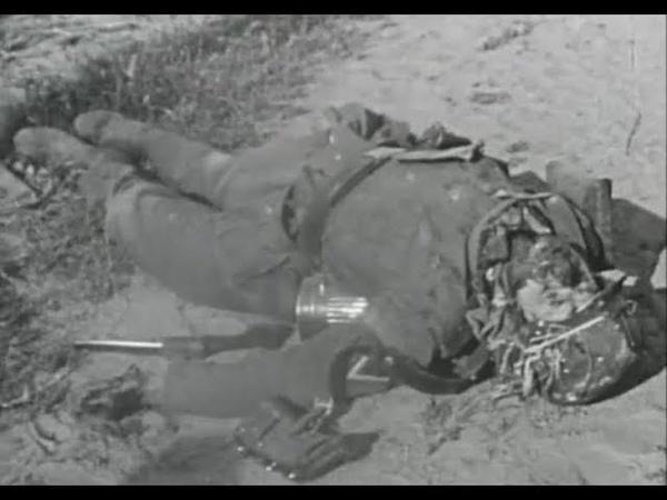 Личная съемка немецкого офицера из третьей танковой группы армии Центр, самое начало, лето 1941 года