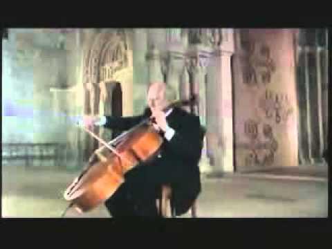 №57 Bach's Cello Suite No 6 Gavotte and Gigue Rostropovich