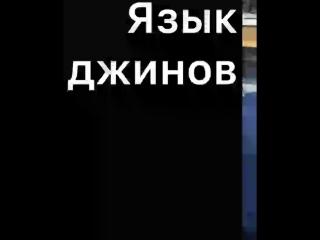 Язык ДЖИННОВ