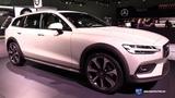 2019 Volvo V60 Cross Country T5 - Exterior and Interior Walkaround - 2018 LA Auto Show