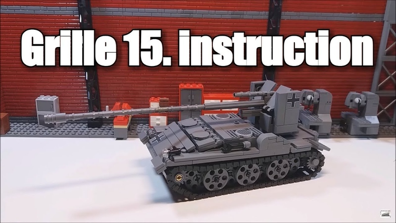 LEGO Grille 15.Инструкция на лего танк.