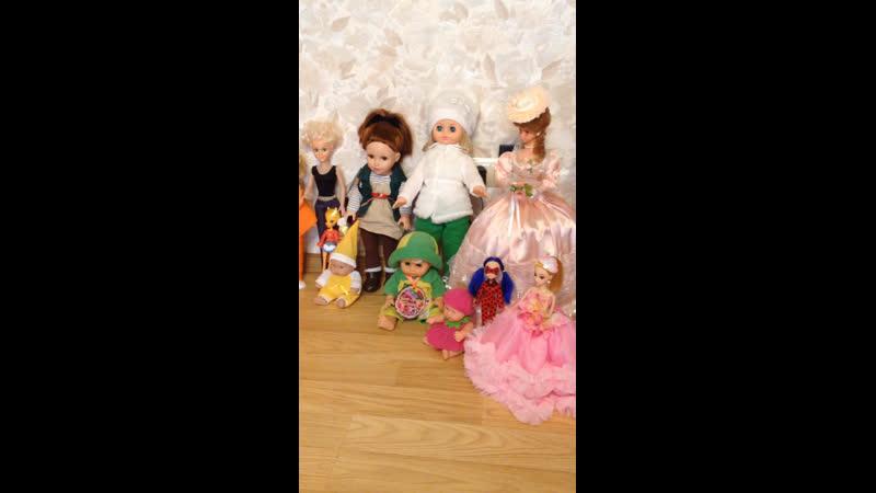 Кукулка моя 👧🏼 с куклами 👯👭😀