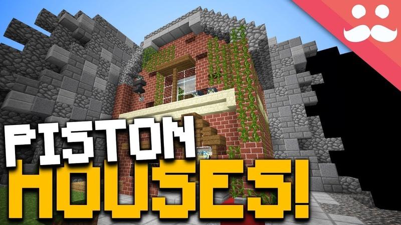 Incredible Minecraft Piston Houses!