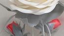 МК роза изолон прикроватный светильник с бутонами