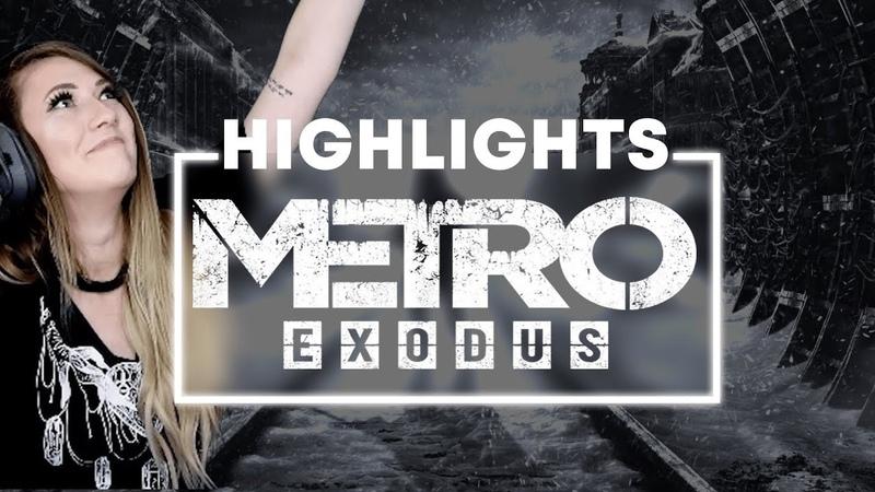 METRO EXODUS | Was that a DRAGON! | Lindsay Elyse