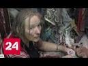 На северо-востоке Москвы целый дом страдает от тяги соседки к накопительству - Россия 24
