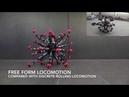 Машины-монстры Mochibot - 32-ногий робот, способный передвигаться, подобно амебе