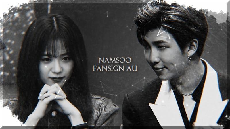 「 namjoon x jisoo || fansign au [pt.4] 」