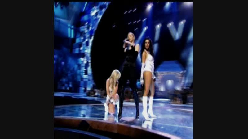 MADONNA feat.Britney Spears Christina Aguilera [ Live VMA 2003 ]