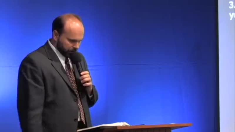 3. Бог говорит через Библию. - Проповедь Виталия Олийника. 08.13.2011