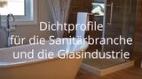 Dichtungsprofile, Duschprofile, Wasserabweiser, Anschlagprofile tg-industrie.de