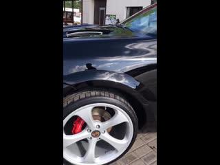 Porsche Cayenne Turbo TechArt Magnum после процедур: ➕ полировка ➕ 2 слоя жидкого стекла