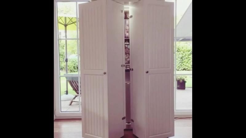 Шкаф-трансформер для любителей порядка