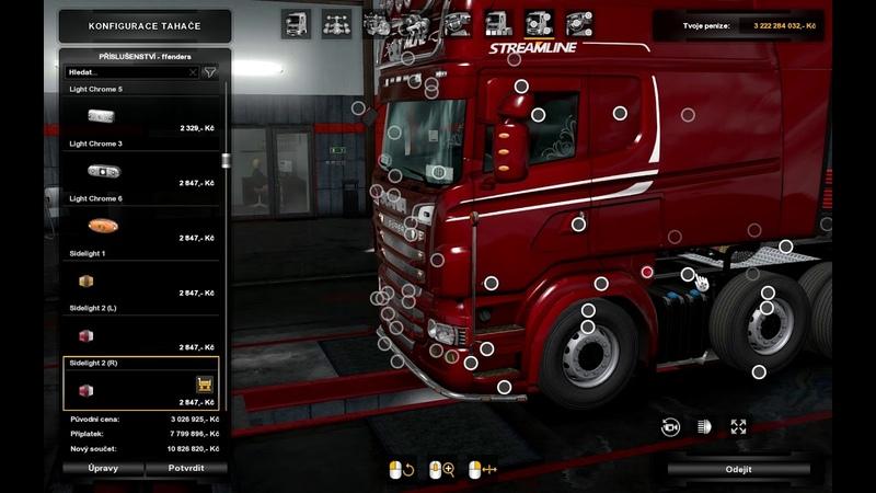 [ETS2 v1.34]Euro Truck Simulator 2 Scania R RJL Mod