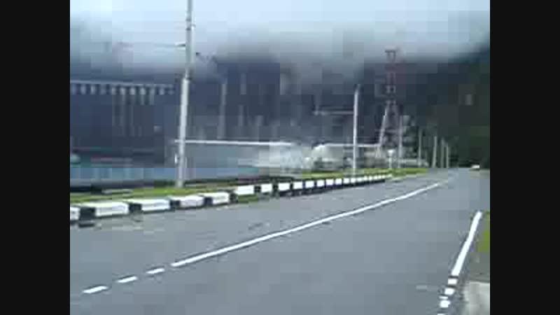 Авария на Саяно-Шушенской ГЭС. поселок Черёмушки