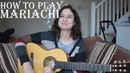 How to play mariachi or Mexican strumming guitar lesson ✔