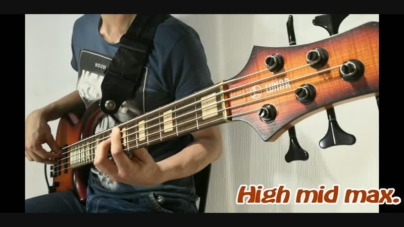 Test Lunar Spartan 5 hollowbody bass Alex Kinbass