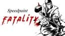 Speedpaint - Fatality/Mortal Kombat ( Paint tool sai )