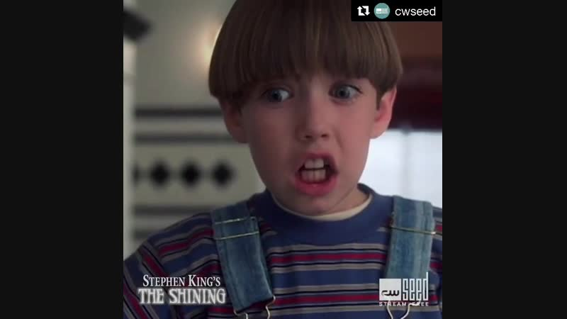 """Supernatural on Instagram_ """"The Shining streams free on @cwseed."""""""
