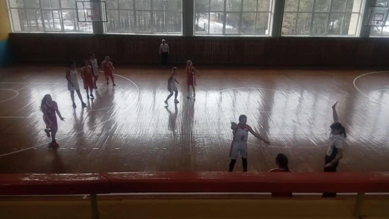 № 3 Тайшет - Саянск -2 ( 70 : 6 ). Пер-во Ирк. обл. по баскетболу среди девушек 2002 г.р.