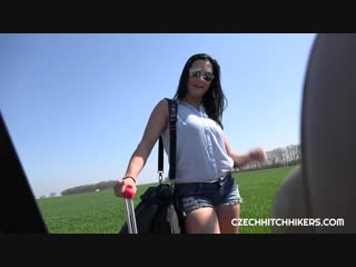 [czechhitchhikers] asdis loren - stopped the driver. she paid for her co-driving with her hot body [ new porn, sex, blowjob, 201