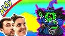 БолтушкА и ПРоХоДиМеЦ Нашли Эпического Героя ВОЛШЕБНИЦУ 191 Игра для Детей Tower Conquest