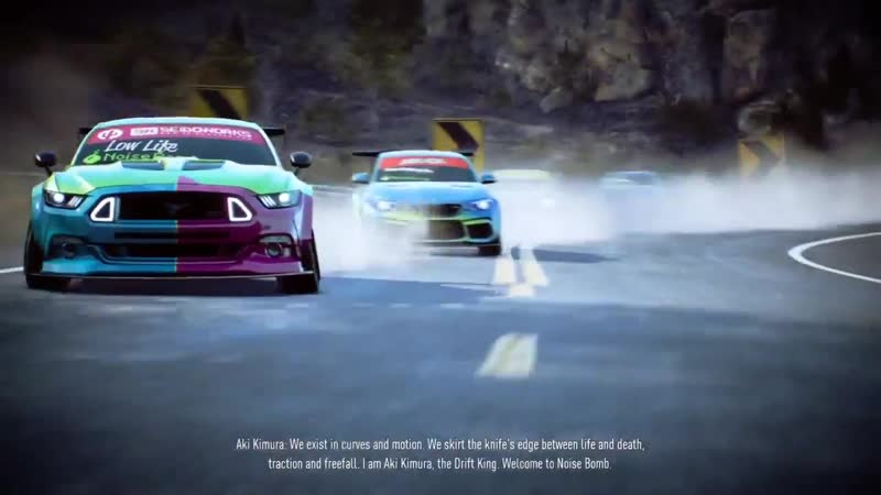 Need For Speed_ Payback _ Noise Bomb introduction by Aki Kimura