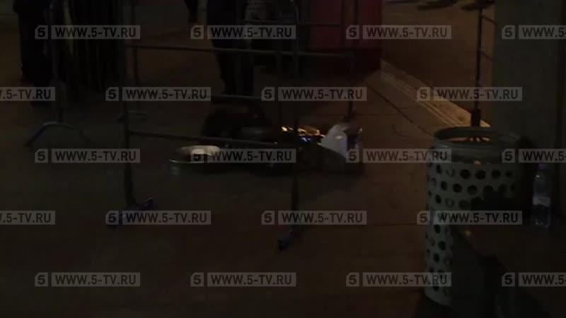 """Сегодня в Москве на станции """"Цветной бульвар"""" полицейский убил собаку нарушителя общественного поряд..."""
