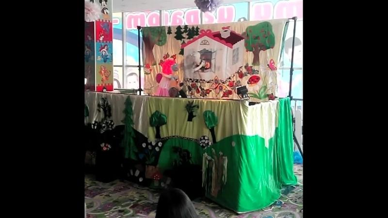 Театр кукол Паппет шоу представляет спектакль Украденный ранец