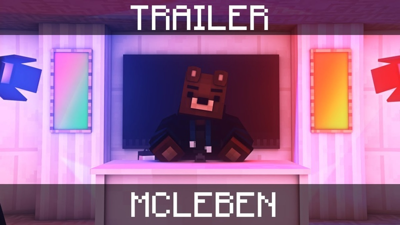 TRAILER | McLeben [Minecraft Animation] - SpaceCraft