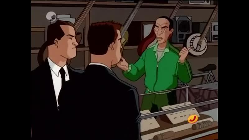 Сезон 02 Серия 06: Синдром Хэллоуиновской тыквы | Люди в черном (1997-2001) / Men in Black: The Series | The Jack O'Lantern Synd