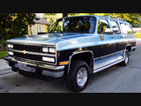 Автомобиль Chevrolet Suburban V1500 4X4, 1991 года