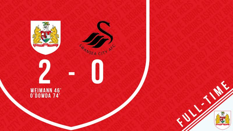 Bristol City 2-0 Swansea