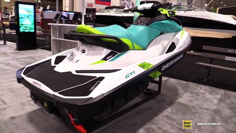 2018 Sea Doo GTI Jet Ski - Walkaround - 2018 Toronto Boat Show