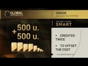 Earn money by ordering Gold Set Global Smart