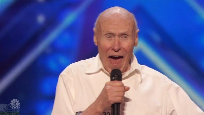 America's Got Talent 2016 John Hetlinger 82 Y.O. Rockin' Aerospace Engineer Full Audition Clip