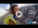 🔴 СЛАБОНЕРВНЫМ НЕ СМОТРЕТЬ 🔴Аттракцион в Лас Вегасе SkyJump Высота 261 метр или высота здания небоскрёба 108 этажей✈🌴☀