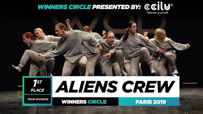 ALIENS CREW | 1st Place Team | World of Dance Paris 2019 | WODFR19