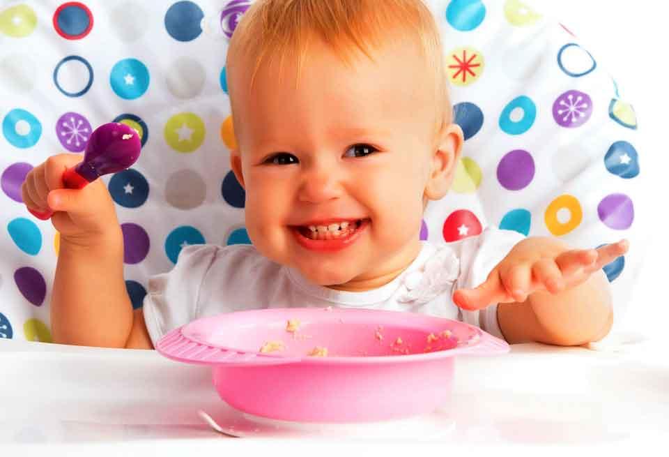 Какие бывают виды детского питания?