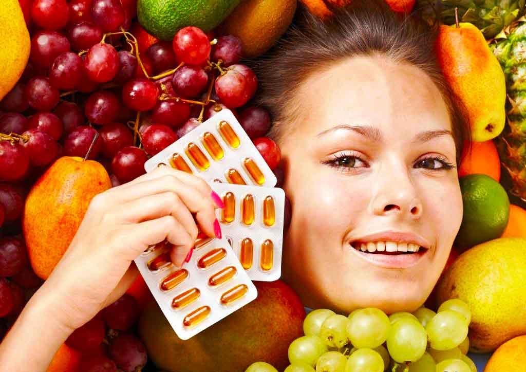 Биологически активные добавки и витамины