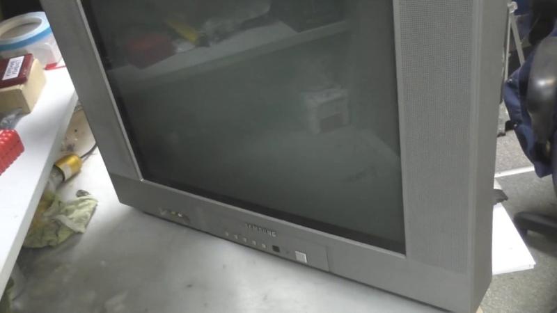 ремонт телевизора samsung cs-21a9wq (шасси KS2A) нет изображения (нет запуска строчной развертки