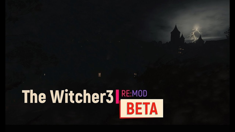 The Witcher 3 Reworked BETA