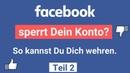 Nie mehr auf Facebook gesperrt werden Teil 2/3 (Interview mit Stahl)