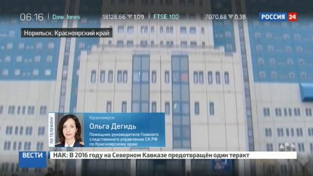 Новости на Россия 24 • Задержан подозреваемый в убийстве врача в Норильске