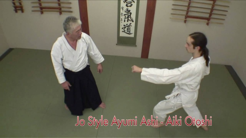 Aiki Otoshi from jodan tsuki- Izumi Sensei - aikido