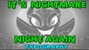 It's Nightmare Night Again Typography